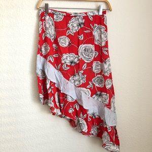 Jaase Asymmetrical Skirt